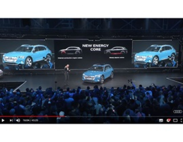 Audi e-tron world premiere